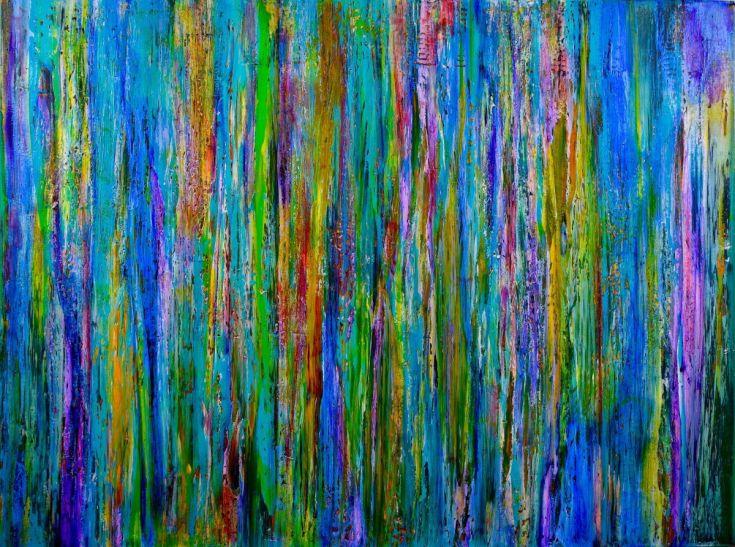 SOLD - Lavender Spectra (Healing), 2015 Nestor Toro