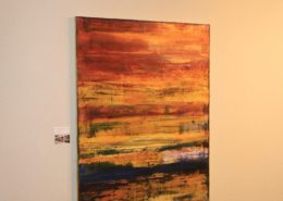 California abstract painter Nestor Toro's solo show July 2016