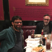 DINNER WITH JONAS ALMGREN CEO OF ARTFINDER.COM IN LOS ANGELES