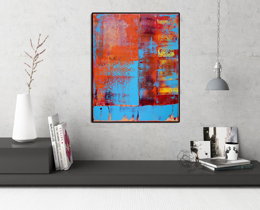 SOLD from Saatchi Art abstract by Nestor Toro in Los Angeles