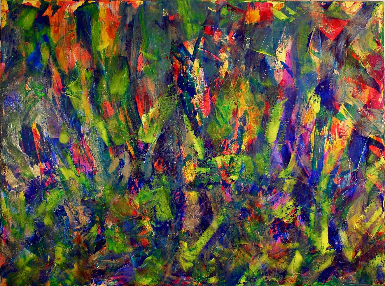 Green Terrain (Green Dimensions) by Nestor Toro