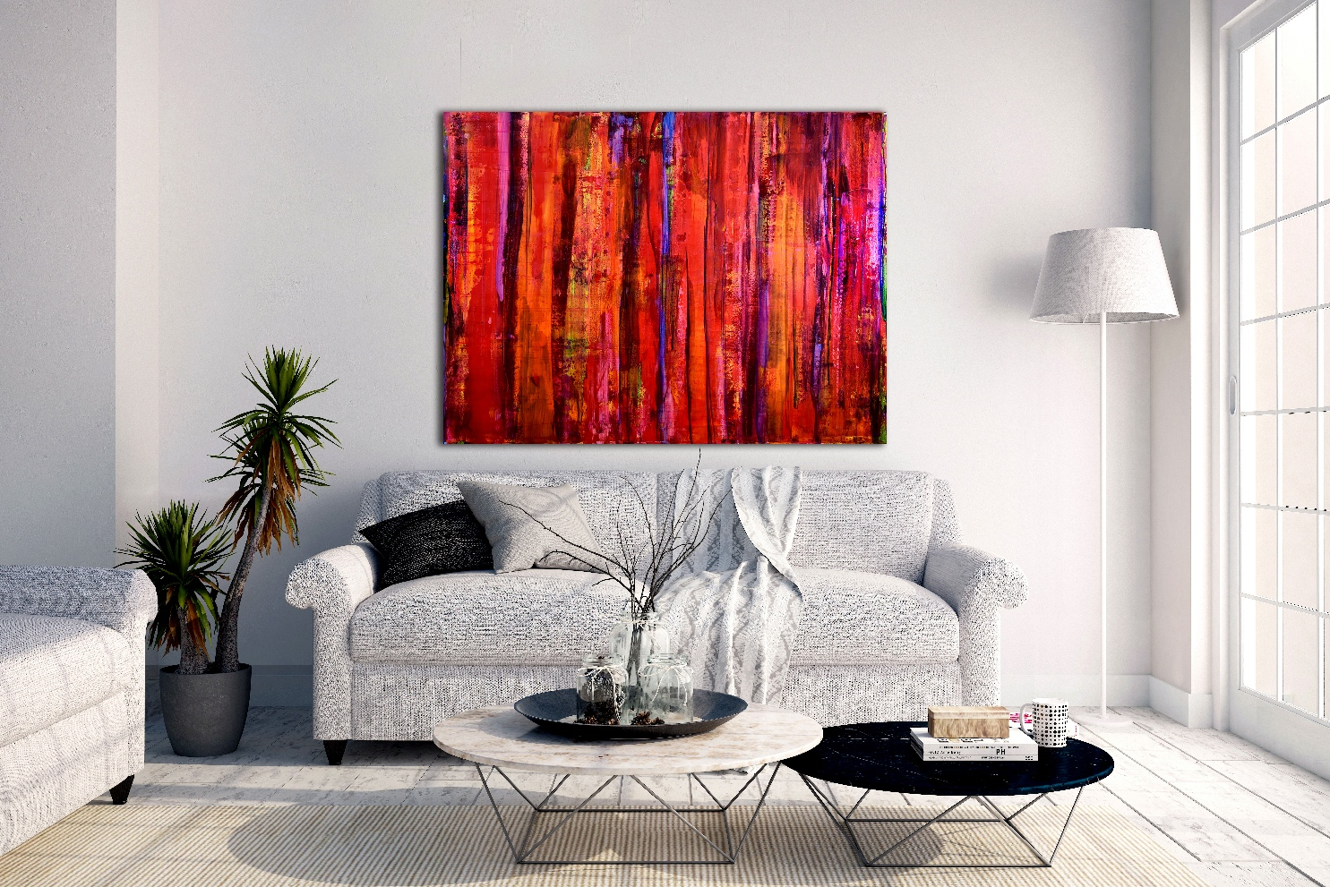 Abstract Spectra 3 by Nestor Toro in Los Angeles