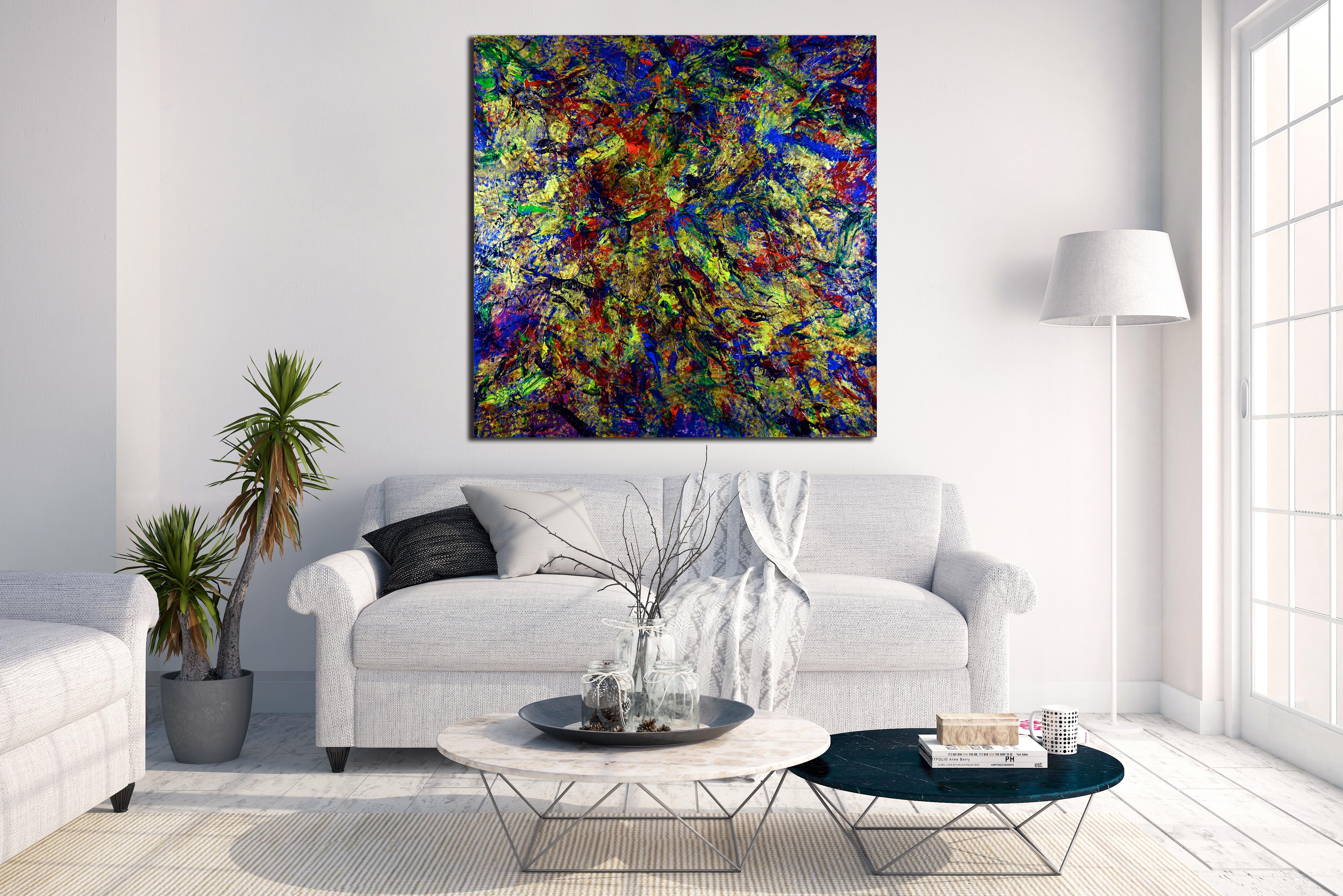 Nestor Toro abstract artist working in Los Angeles