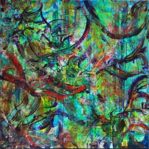 SOLD - Scattered Visions by Nestor Toro in Los Angeles