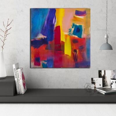 The Next Room (Healing) (2014) Mixed Media painting by Nestor Toro