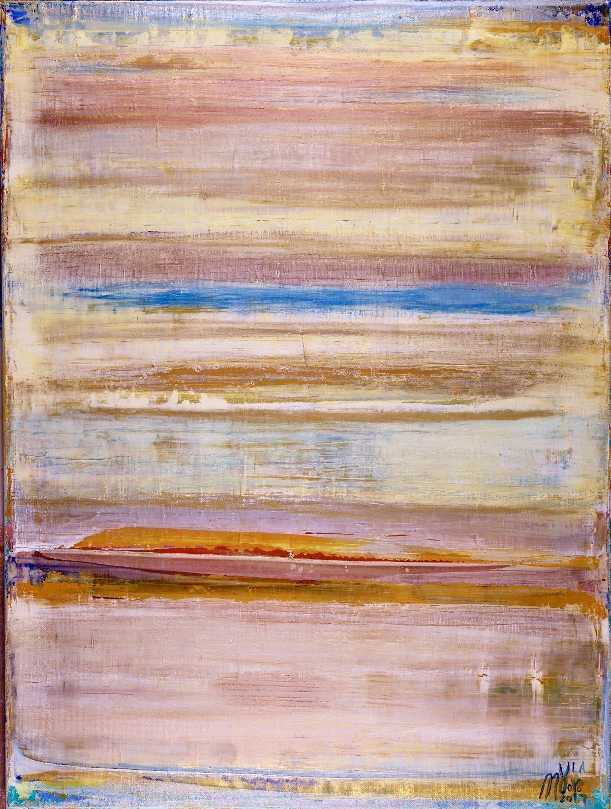 Dimensional Terrain (Thin Air) - SOLD - artist Nestor Toro