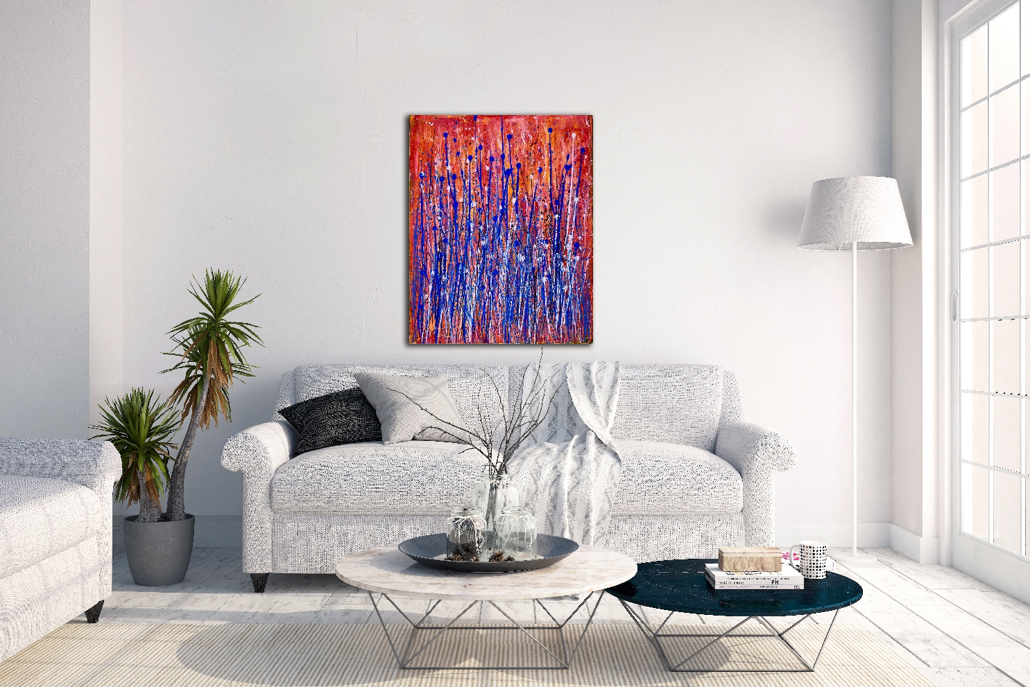 Drizzles 3 (Cooling) - SOLD by artist Nestor Toro