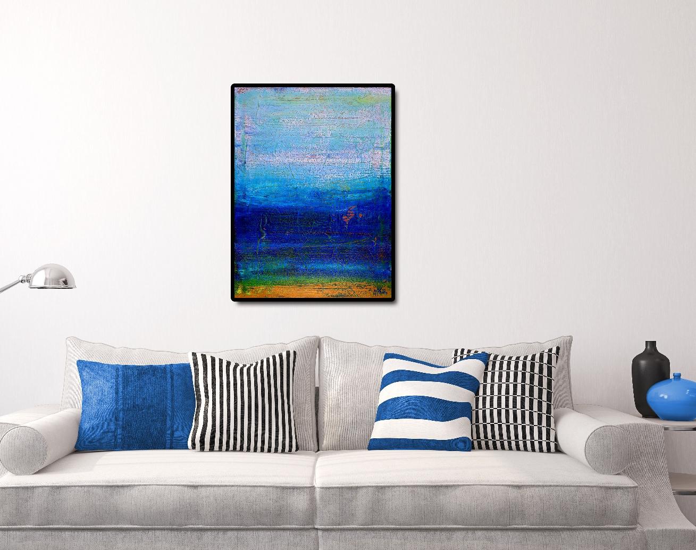 Vibrant Ombre Colorfield by Nestor Toro