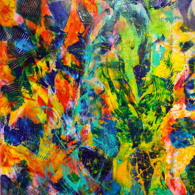 Abstract Transition 1 by Nestor Toro - Los Angeles