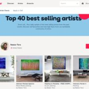 Nestor Toro top selling artist at artfinder gallery. Number 31 out of over 9000 artists! Thank you - Nestor Toro