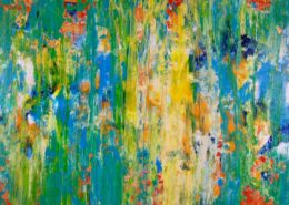 Early Spring by abstract artist - Nestor Toro in Los Angeles