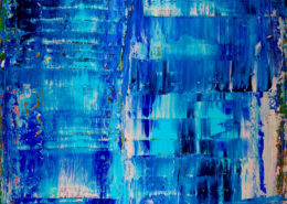 Sold abstract artwork by Los Angeles Abstract artist - Nestor Toro