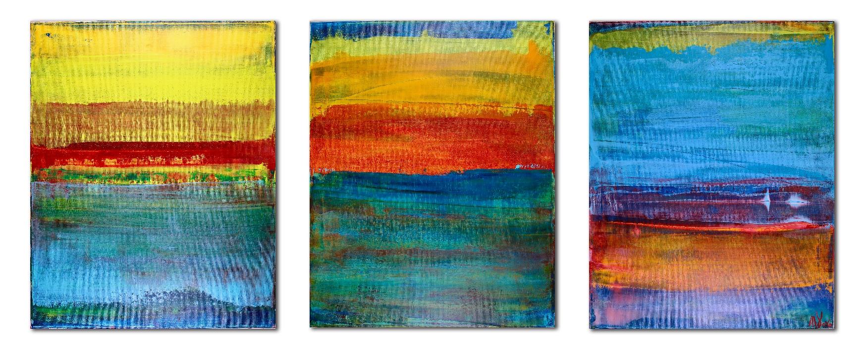 Sold - Morning Star - Nestor Toro - Los Angeles Abstract Artist