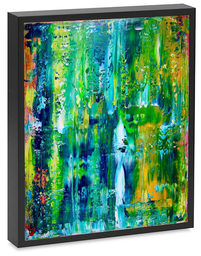 SOLD - Enchanted Spectra by Nestor Toro - Abstract artist