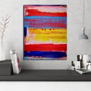 SOLD - Thinking out loud! - by abstract artist Nestor Toro in Los Angeles