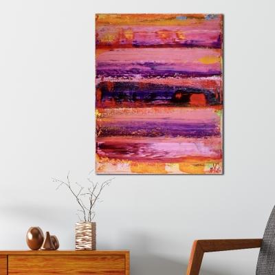Energy Fusion 1 (2018) Acrylic painting by Nestor Toro