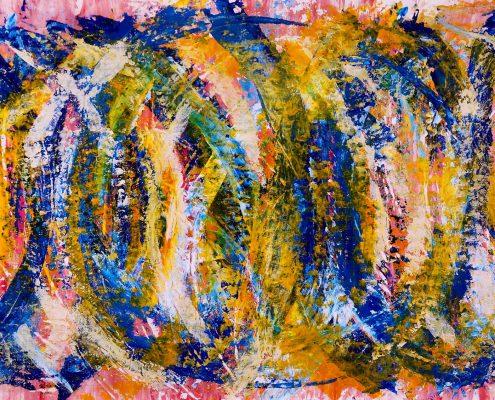 SOLD - Sun Magnetism by artist Nestor Toro