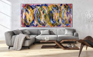 SOLD - Sun Magnetism by artist Nestor Toro in Los Angeles