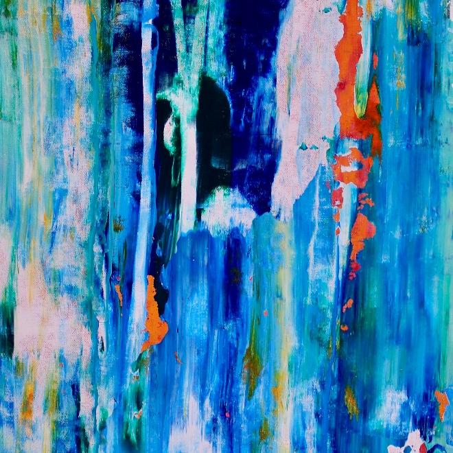 Vanishing Panorama (2018) Acrylic painting by Nestor Toro