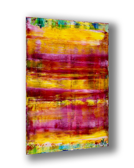 Energy Fusion 6 (2018) Acrylic painting by Nestor Toro