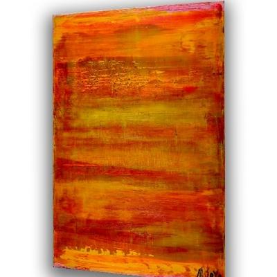 Sunset, Sunrise (2018) painting by Nestor Toro