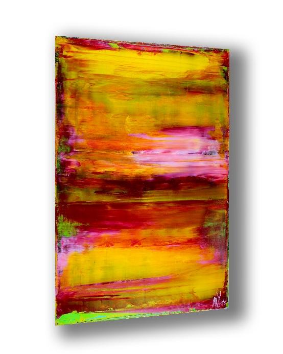 Energy Fusion 5 (2018) Acrylic painting by Nestor Toro