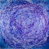Vortex in Blue (2018) Acrylic painting by Nestor Toro