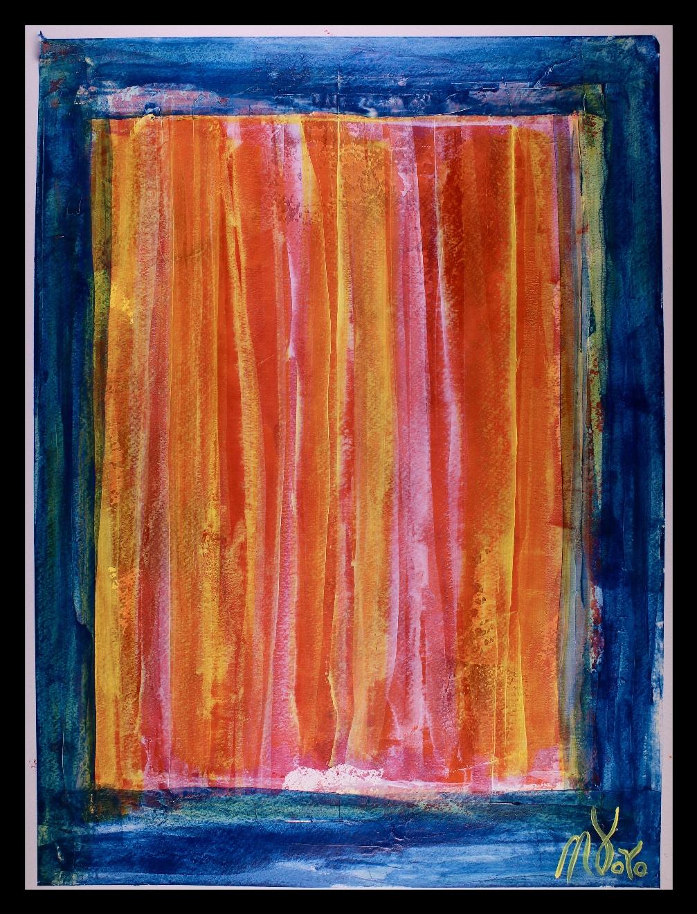 An open Window (2018) Art on paper by Nestor Toro in Los Angeles