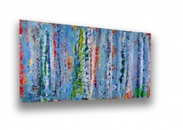 SOLD - Color Frenzy 3 by Los Angeles artist Nestor Toro