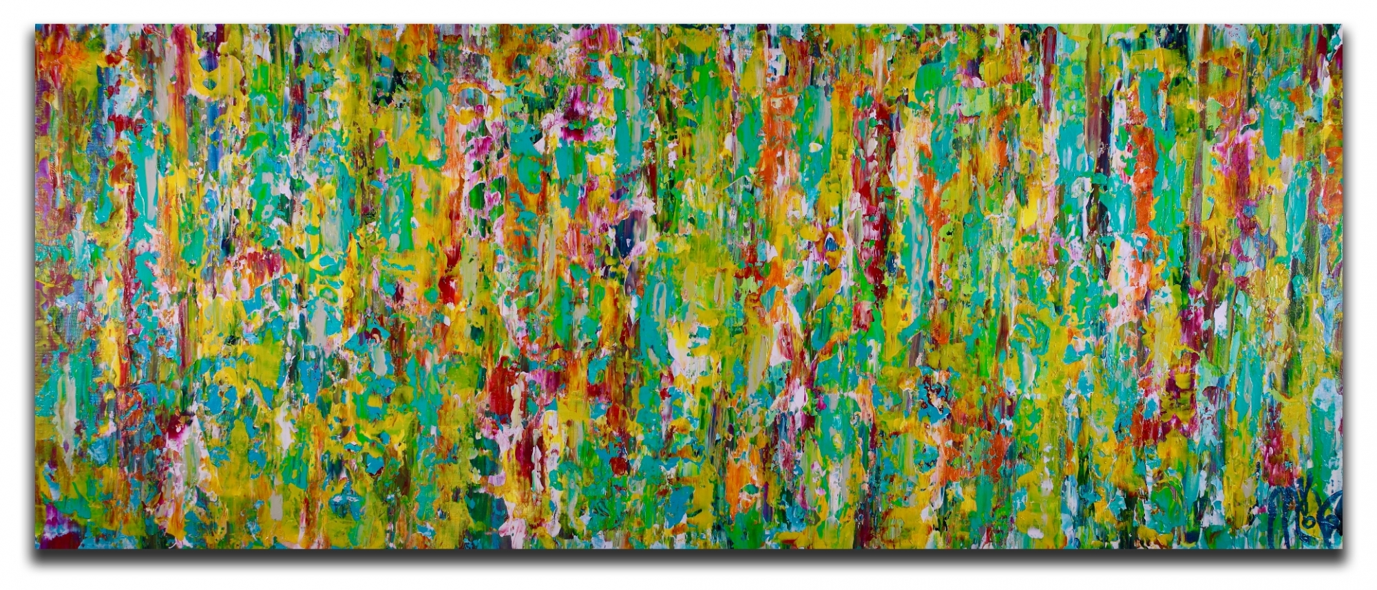Secret frenzy (2018) Expressionistic Acrylic painting by Nestor Toro