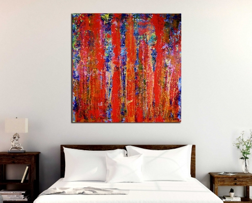 SOLD ABSTRACT ARTWORK - Infinity Stream Artist Nestor Toro