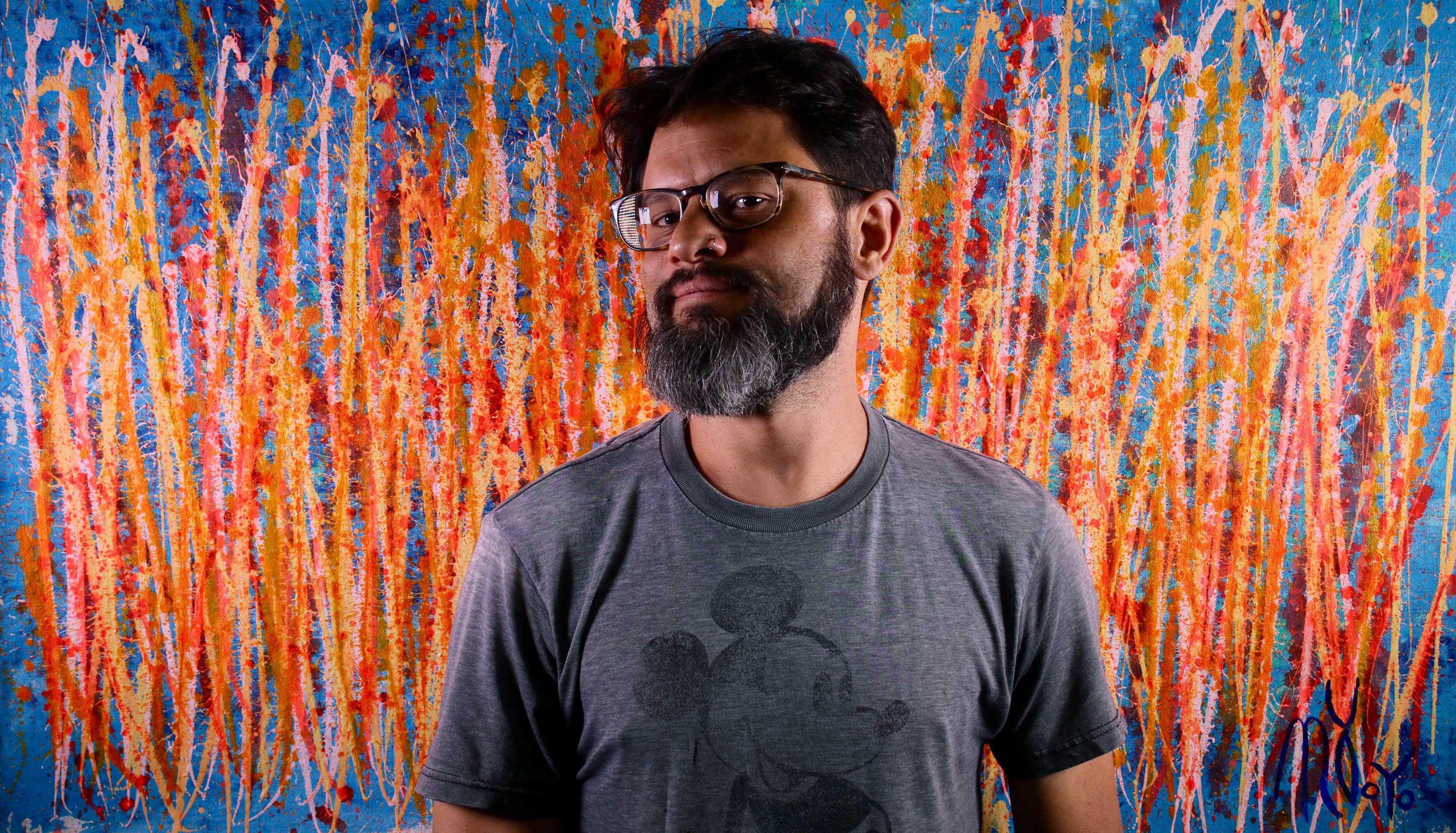 Artist Nestor Toro - Los Angeles