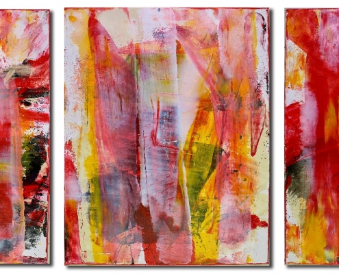 SOLD Abstract Art - Interrupted Frequencies by Nestor Toro