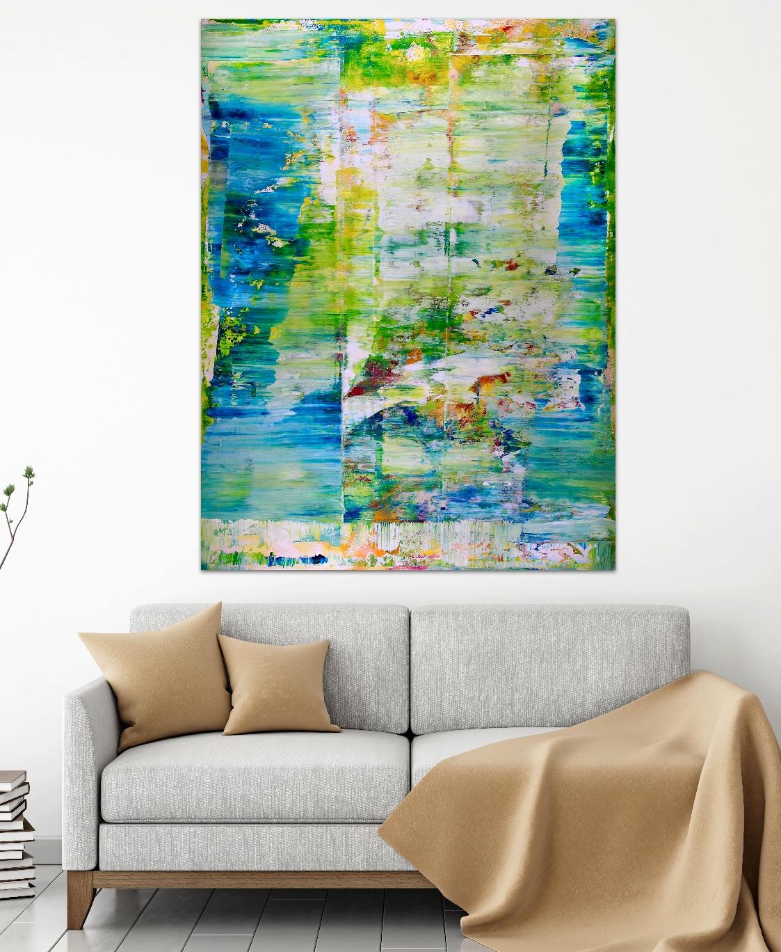 Room View - FULL IMAGE - Verdor (Maritime Forest) by Nestor Toro