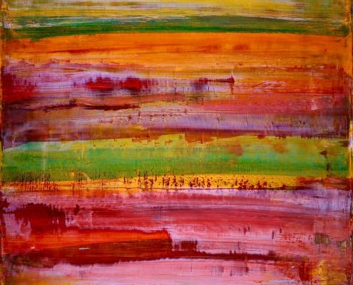 SOLD - OUTSIDE THE WINDOW 4 by artist NESTOR TORO