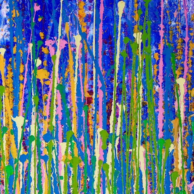 Detail - Awakening Frequencies by Nestor Toro (2019) Los Angeles