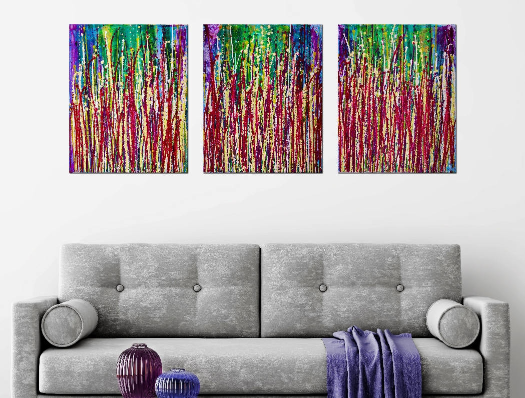 The Very First Time by Nestor Toro - Triptych!