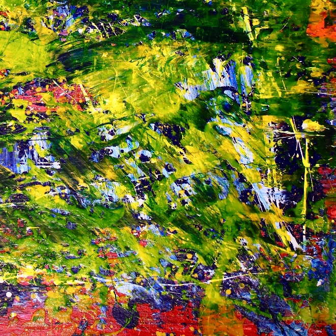 Detail - A closer look (Lush forest imagery) by Nestor Toro (2019)