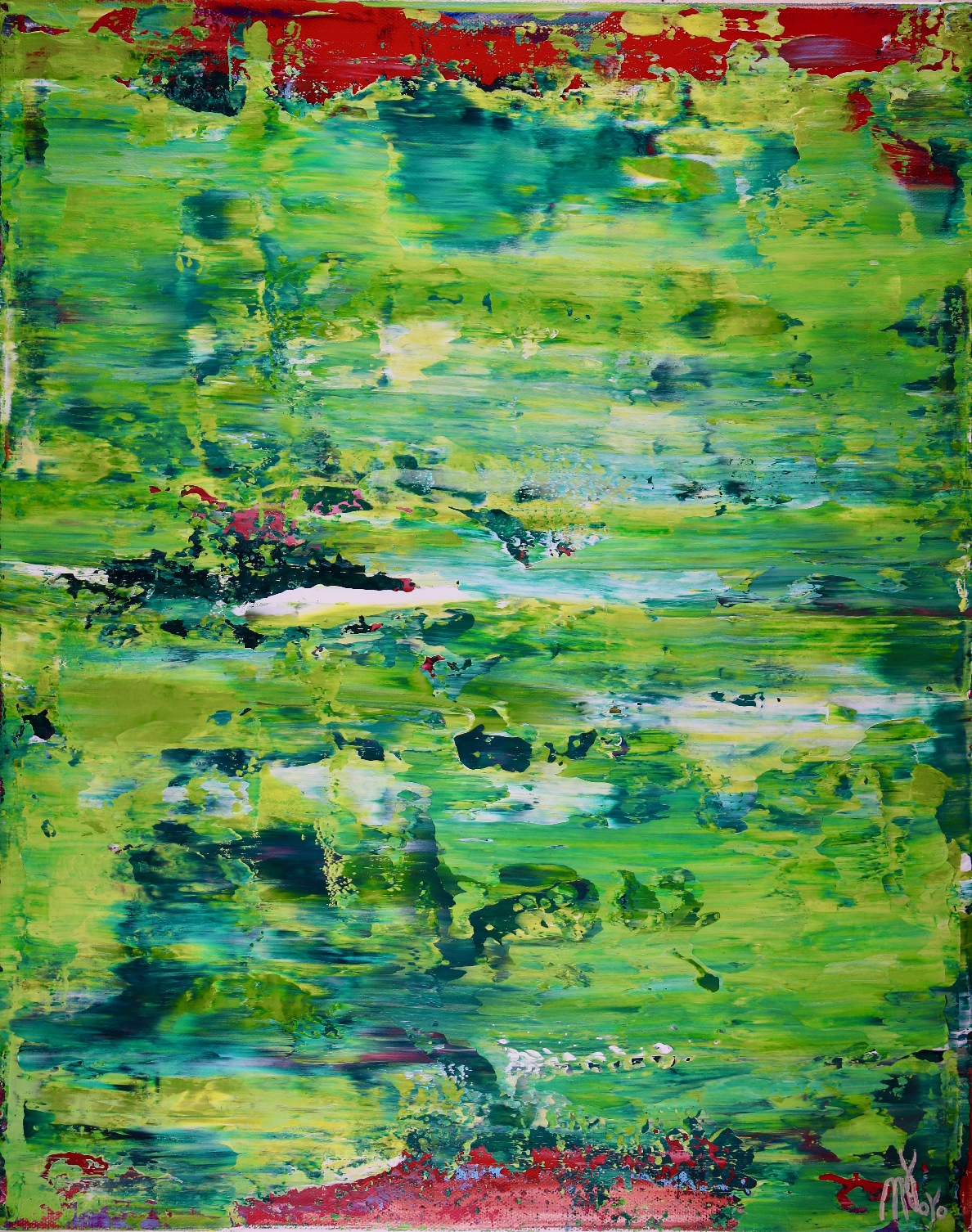 Verde Caribe by Nestor Toro - Los Angeles