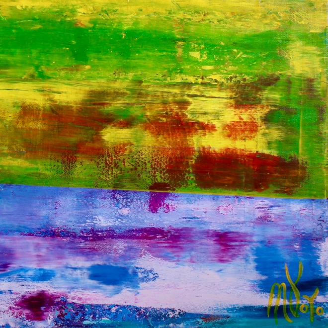 Detail - Abstract Landscape |Aerial west coast view by Nestor Toro