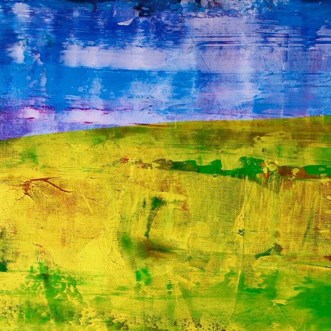Detail - Abstract Landscape  Aerial west coast view by Nestor Toro