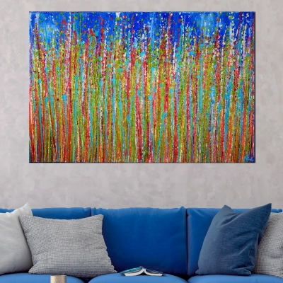 Awakening Garden 3 by Nestor Toro - Ready to hang 24x36 inches