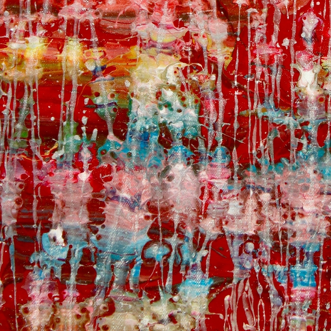 Detail - A Closer Look (Thunder garden) by Nestor Toro 2019